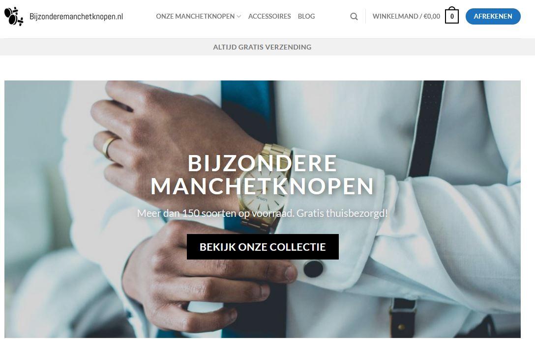 Home van www.bijzonderemanchetknopen.nl